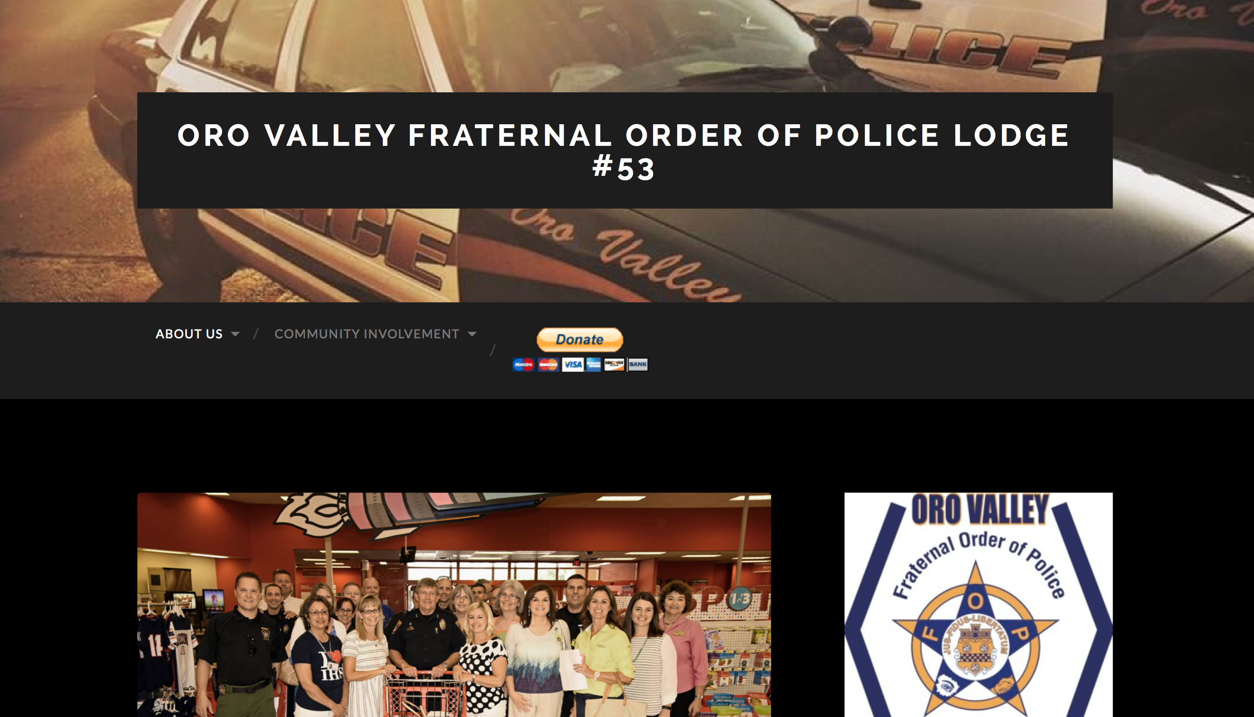 Oro Valley Fraternal Order of Police Lodge #53